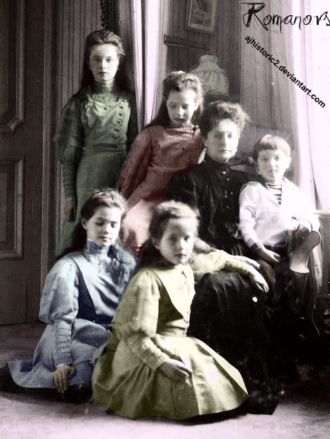 Maria with her Siblings and Mother